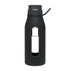 Takeya Glass Water Bottle, Black - 16 ozs.