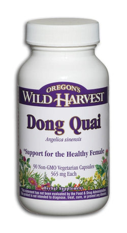 Oregon's Wild Harvest Dong Quai Root - 90 veg caps