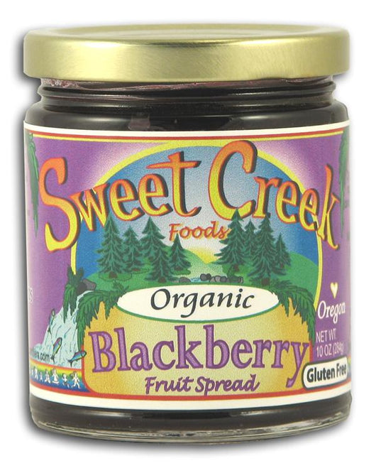Sweet Creek Foods Blackberry Fruit Spread Organic - 12 x 10 ozs.
