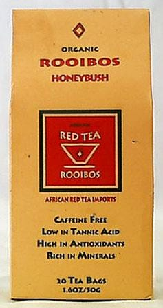 African Red Tea Rooibos Honeybush Tea Organic - 1 box