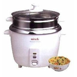 Miracle Exclusives Rice Cooker, Stainless Steel - 1 Unit