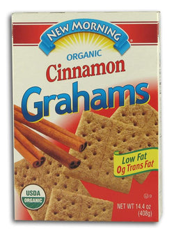 New Morning Cinnamon Grahams Organic - 16 ozs.