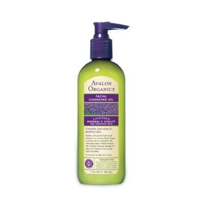 Avalon Lavender Facial Cleansng Gel Organic - 7 ozs.