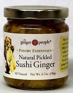 Ginger People Sushi Ginger Natural Pickled - 6.7 ozs.