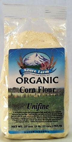 Azure Farm Corn Flour (Unifine) Organic - 27 ozs.