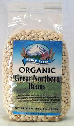 Azure Farm Great Northern Beans Organic - 37 ozs.