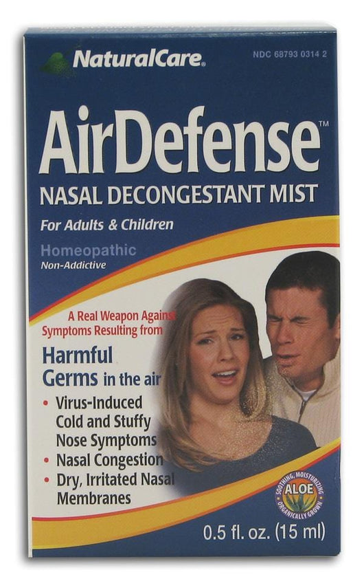 Natural Care Airborne AirDefense Nasal Mist - 0.5 oz.