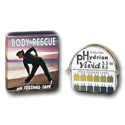 Body Rescue pH Testing Tape - 1 Roll