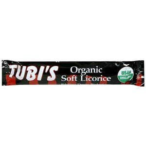 Tubi's  Black Licorice Bar, Organic - 3 x 1 oz.