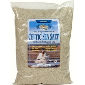 Celtic Sea Salt Celtic Sea Salt Crystals Light Grey - 1 lb.
