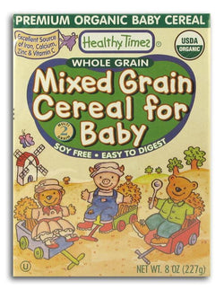 Healthy Times Mixed Grain Cereal Organic - 8 ozs.