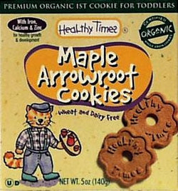 Healthy Times Arrowroot Maple Cookies Organic - 5 ozs.