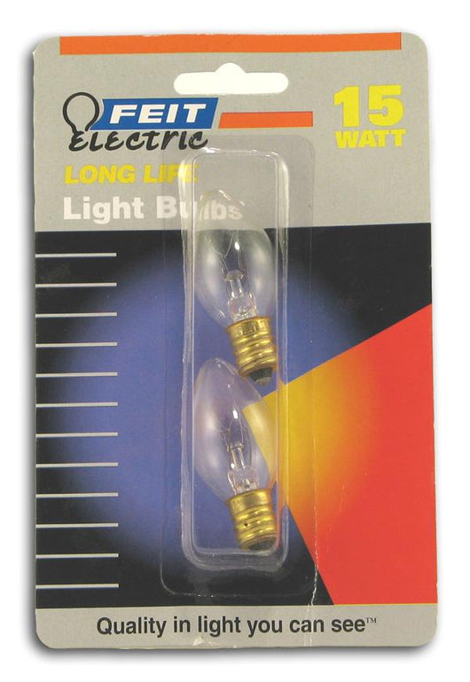 Feit Electric 15 Watt Night Light Bulb 2 bulbs - 24 x 1 pkg.