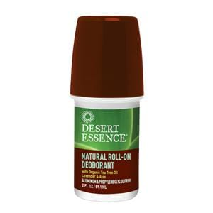 Desert Essence Roll On Deodorant Natural - 2 ozs.
