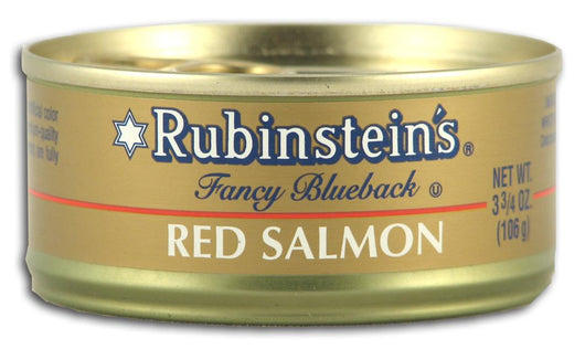 Rubinstein's Red Salmon - 3.75 ozs.
