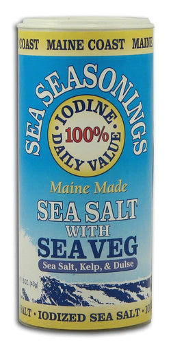 Maine Coast Sea Salt with Sea Veg - 1.5 ozs.