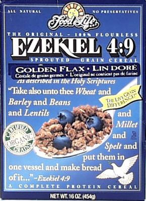 Food For Life Ezekiel Cereal Golden Flax Organic - 6 x 16 ozs.