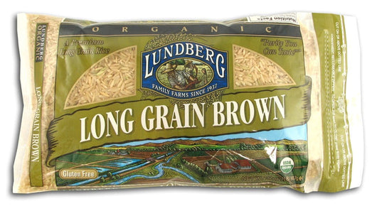 Lundberg Long Grain Brown Rice Organic Gluten-Free - 2 lbs.