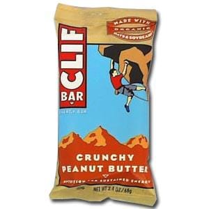 Clif Bar Crunchy Peanut Butter Bar - 3 x 2.4 ozs.