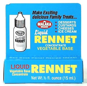 Yogourmet Malaka Liquid Vegetable Rennet - 6 x 0.5 oz.