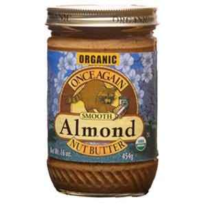 Once Again Nut Butter Inc. Almond Butter Smooth Organic - 12 x 16 ozs.