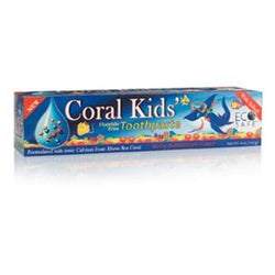 Coral LLC Coral Kids Toothpaste, Berry Bubble Gum - 6 ozs.