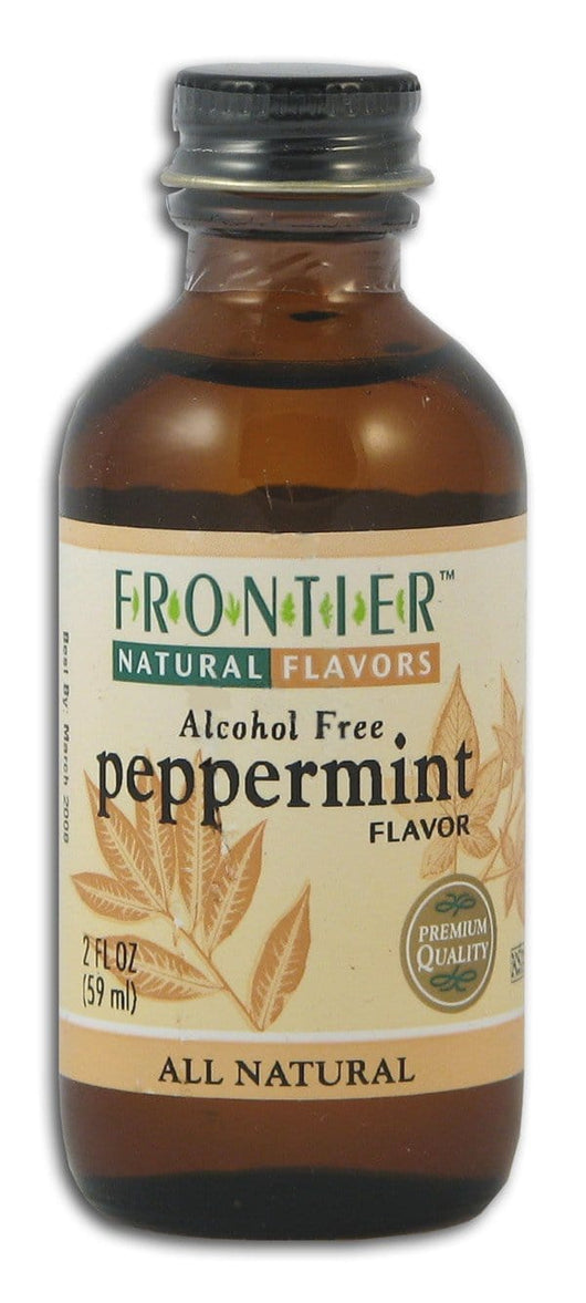 Frontier Peppermint Flavor - 2 ozs.