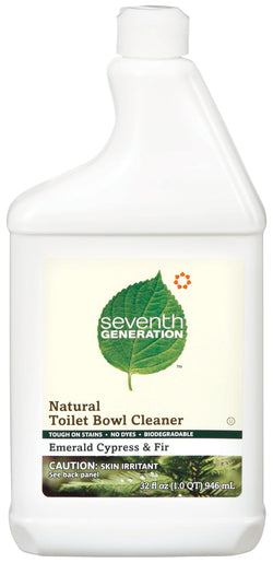Seventh Generation Toilet Bowl Cleaner Emerald Cypress - 32 ozs.