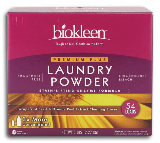 Biokleen Premium Plus Laundry Powder - 5 lbs.