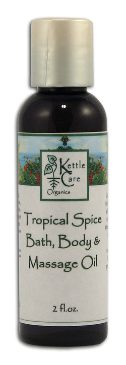 Kettle Care Tropical Spice Body Oil - 2 ozs.