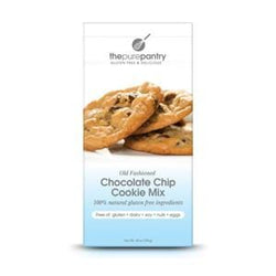 The Pure Pantry Old Fashioned Chocolate Chip Cookie Mix, Gluten Free - 6 x 18 ozs.