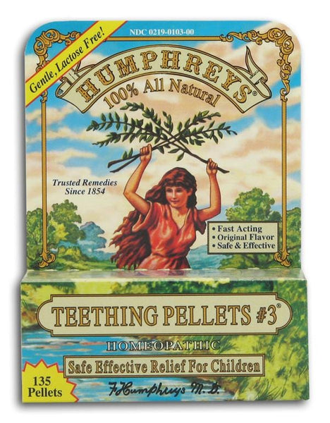 Humphrey's Teething Pellets #3 Original - 135 pellets