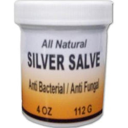 Health Line Colloidal Silver Salve - 4 ozs.
