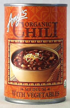 Amy's Medium Chili with Vegetables Organic - 12 x 14.7 ozs.