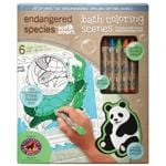 Endangered Species Bath Time Bath Coloring Scenes -