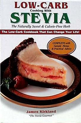Books Low-Carb Cooking with Stevia - 1 book