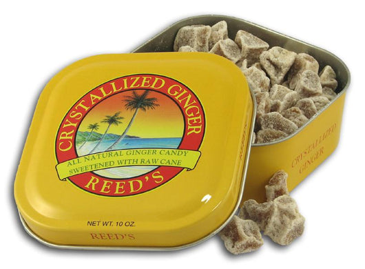 Reed's Crystallized Ginger Root Candy Tin - 10 ozs.