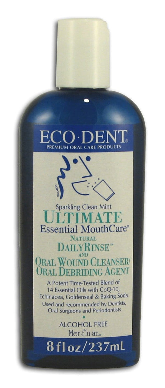 Eco-Dent Ultimate Daily Rinse Sparkling Clean Mint - 8 ozs.
