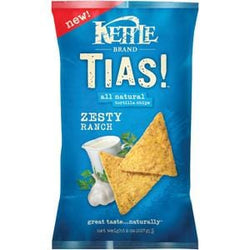 Kettle Foods TIAS! Zesty Ranch Corn Chips - 8 ozs.