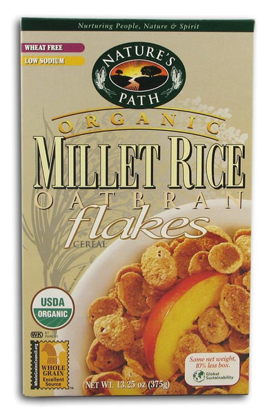 Nature's Path Millet Rice Flakes Organic - 3 x 13.25 ozs.