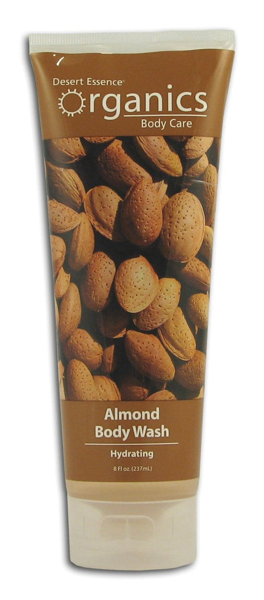Desert Essence Almond Body Wash Organic - 8 ozs.