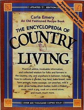 Books An Encyclopedia of Country Living - 1 book