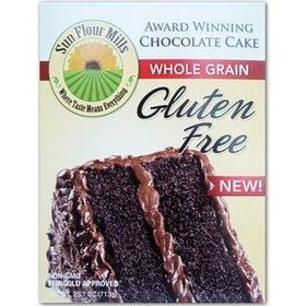 Sun Flour Mills Award Winning Chocolate Cake Mix Gluten Free - 18.8 ozs.