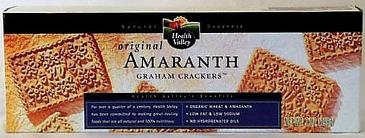 Health Valley Amaranth Graham Crackers Original - 6 x 7 ozs.