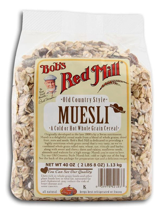 Bob's Red Mill Muesli Old Country Style - 4 x 40 ozs.