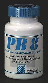 Nutrition Now PB 8 Acidophilus - 60 caps