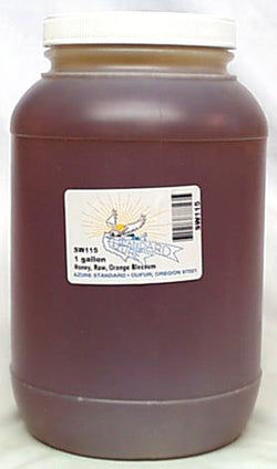 Bulk Honey Raw Orange Blossom - 1 gallon