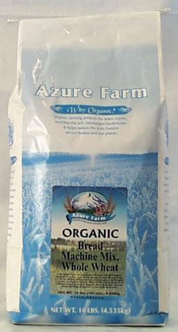 Azure Farm Whole Wheat Bread Machine Mix Organic - 10 lbs.