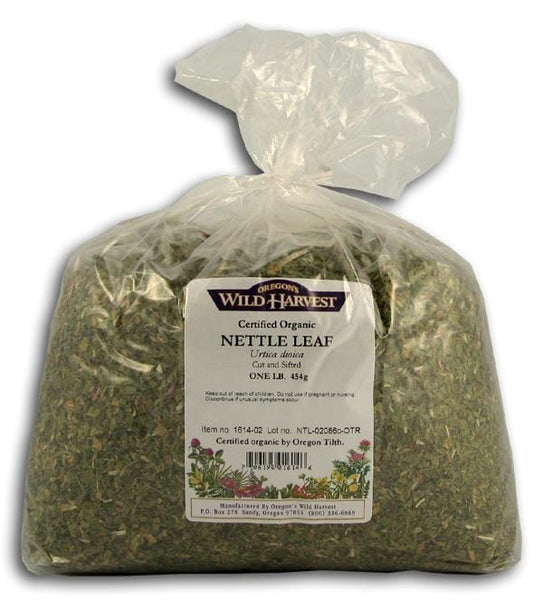 Oregon's Wild Harvest Nettle Leaves Organic - 1 lb.