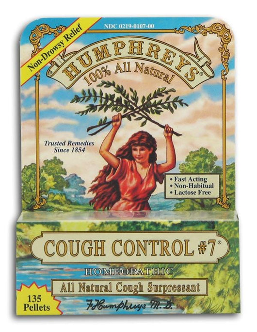 Humphrey's Cough Control #7 - 135 pellets